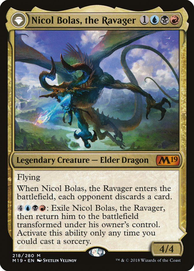 Nicol Bolas, the Ravager // Nicol Bolas, the Arisen