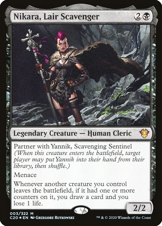 Nikara And Yannik Blinking Partners Edh Commander Deckstats Net Magic The Gathering Decks Today mitch talks about all of the different types of. nikara and yannik blinking partners