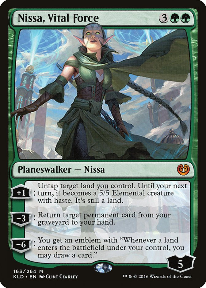 Nissa, Vital Force