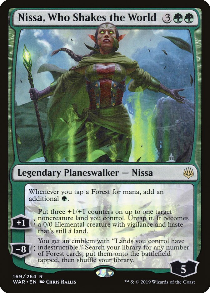 Nissa, Who Shakes the World