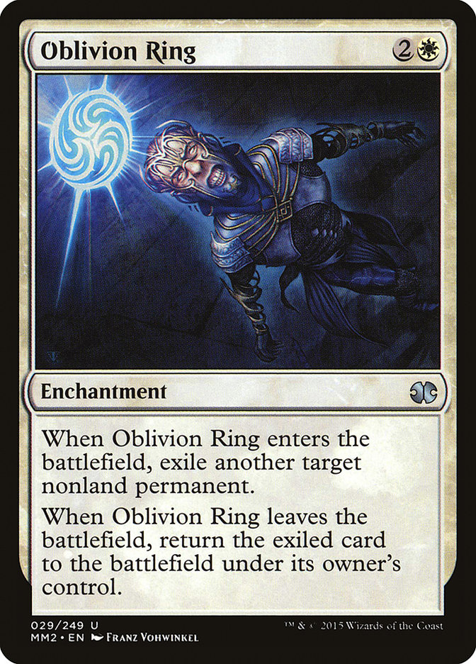 Oblivion Karte.Oblivion Ring Infos Zur Magic The Gathering Karte