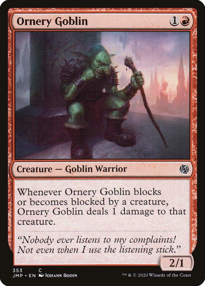 Ornery Goblin