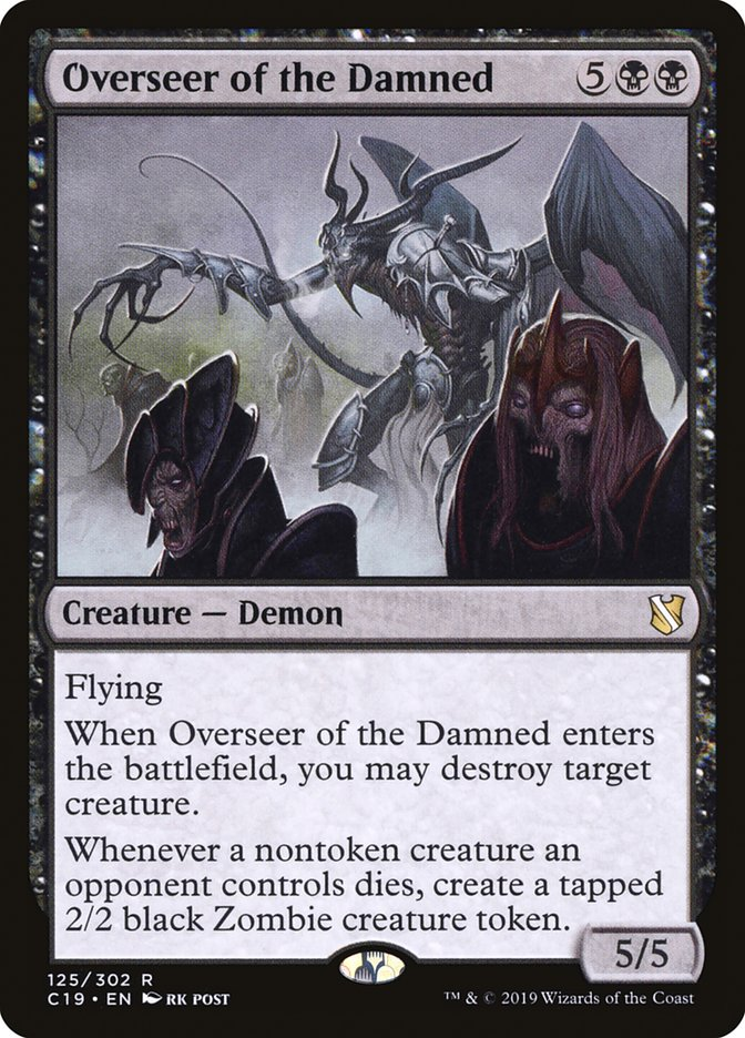 Overseer of the Damned