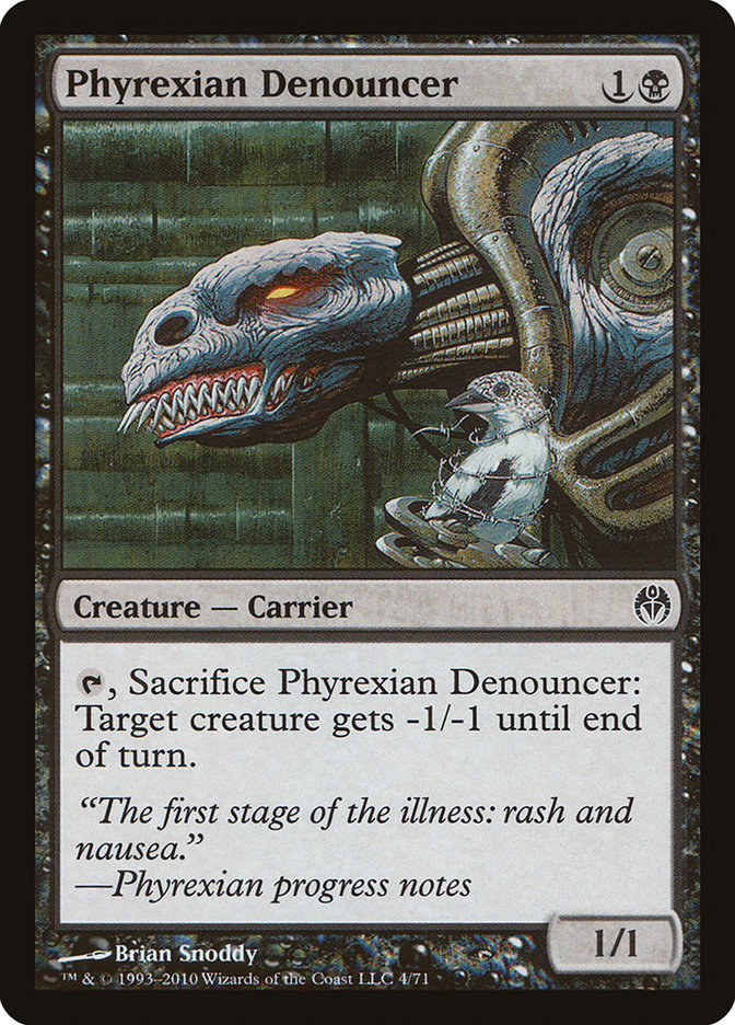 Phyrexian Denouncer