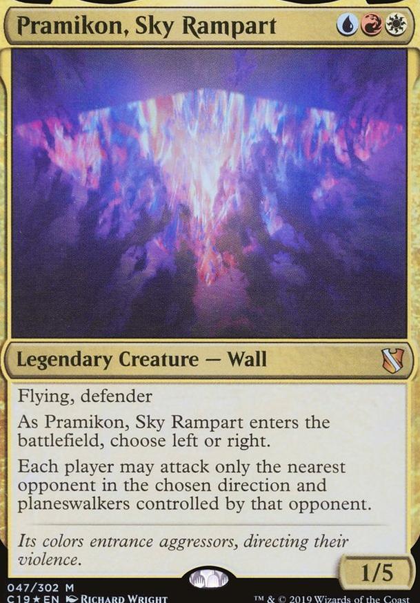 Pramilton, pillow fort  (EDH / Commander) — deckstats net   Magic