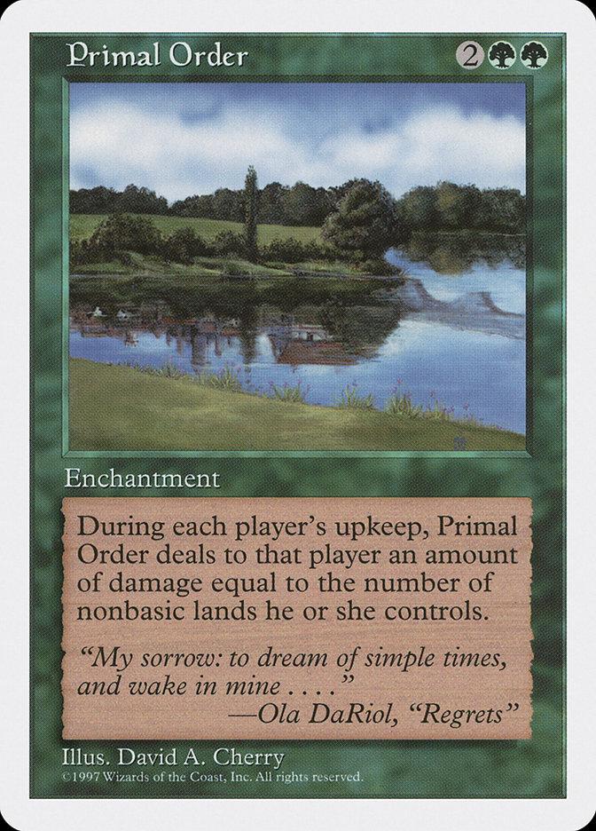Primal Order