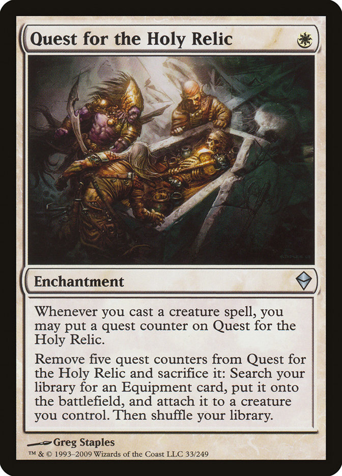 Quest for the Holy Relic