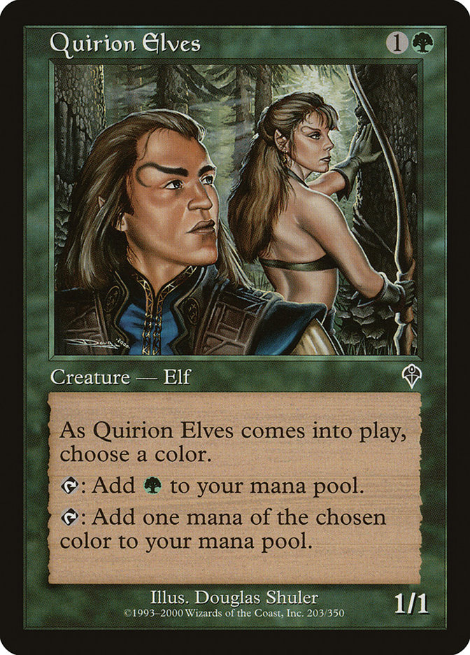 Quirion Elves