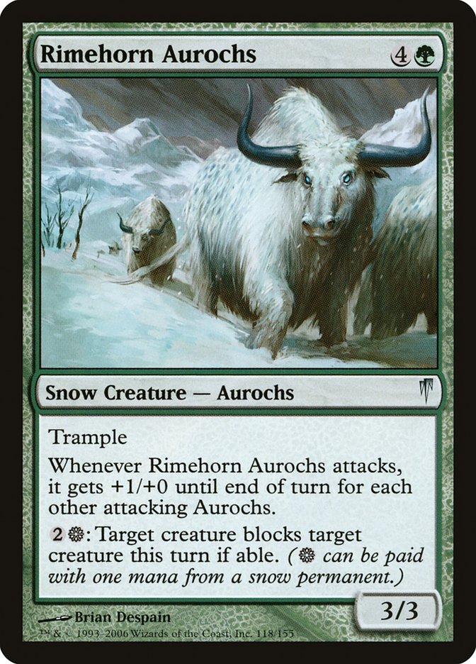 Rimehorn Aurochs
