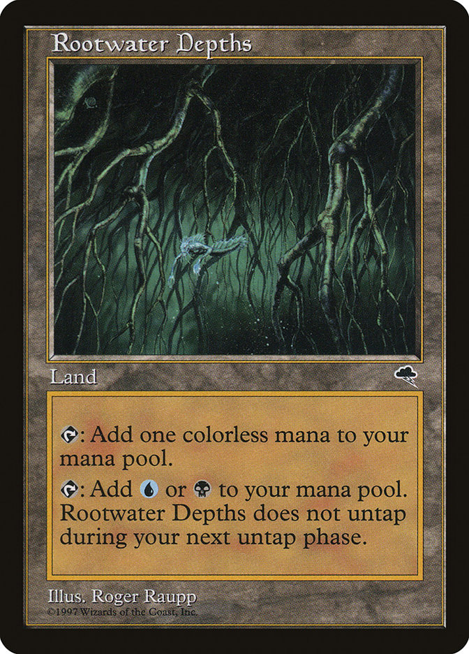 Rootwater Depths