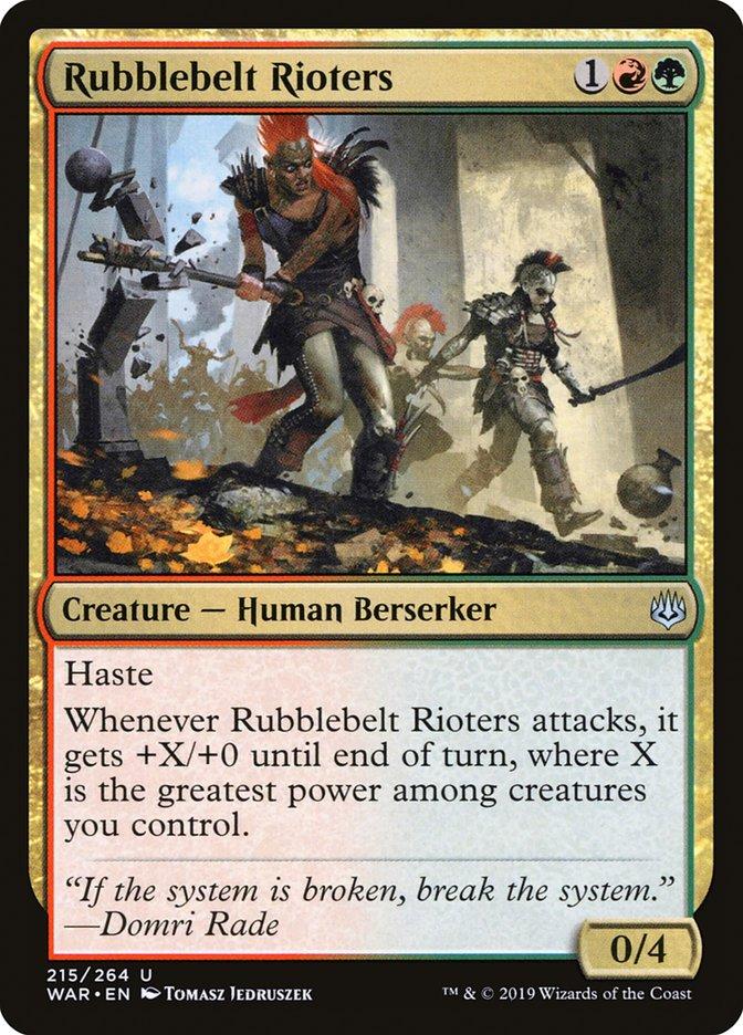 Rubblebelt Rioters