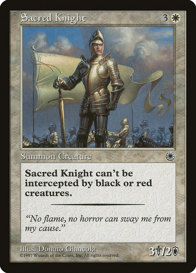 Sacred Knight