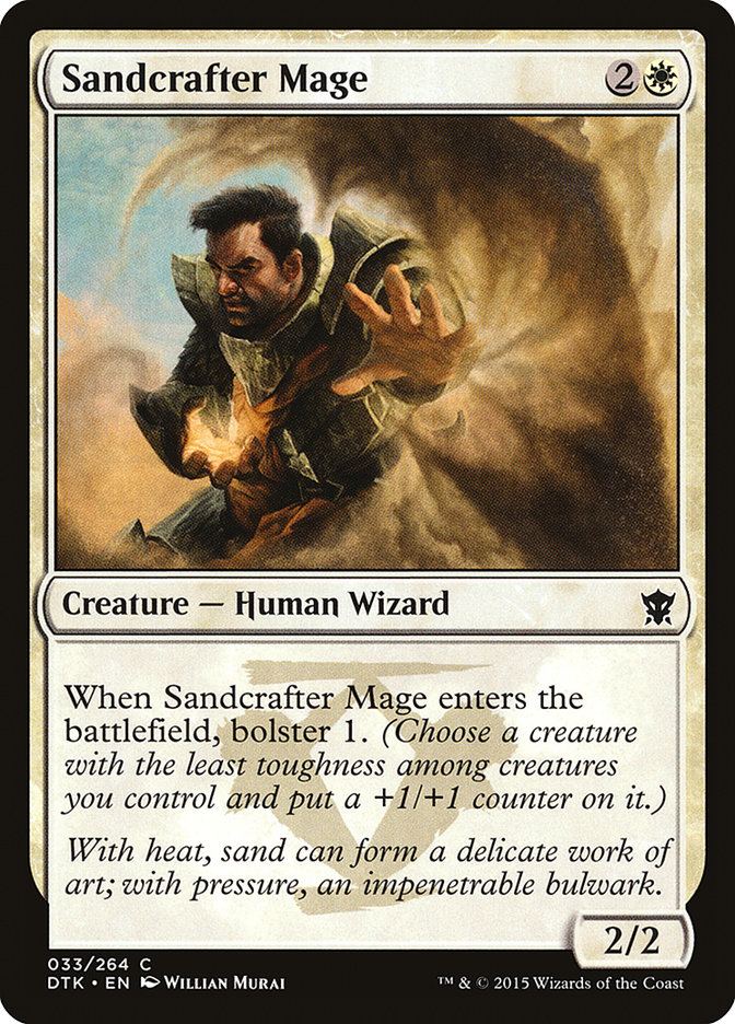 Sandcrafter Mage
