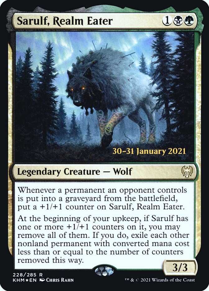 Sarulf, Realm Eater