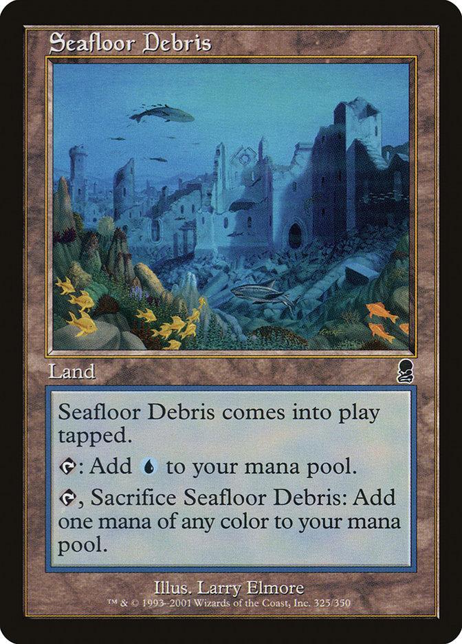 Seafloor Debris
