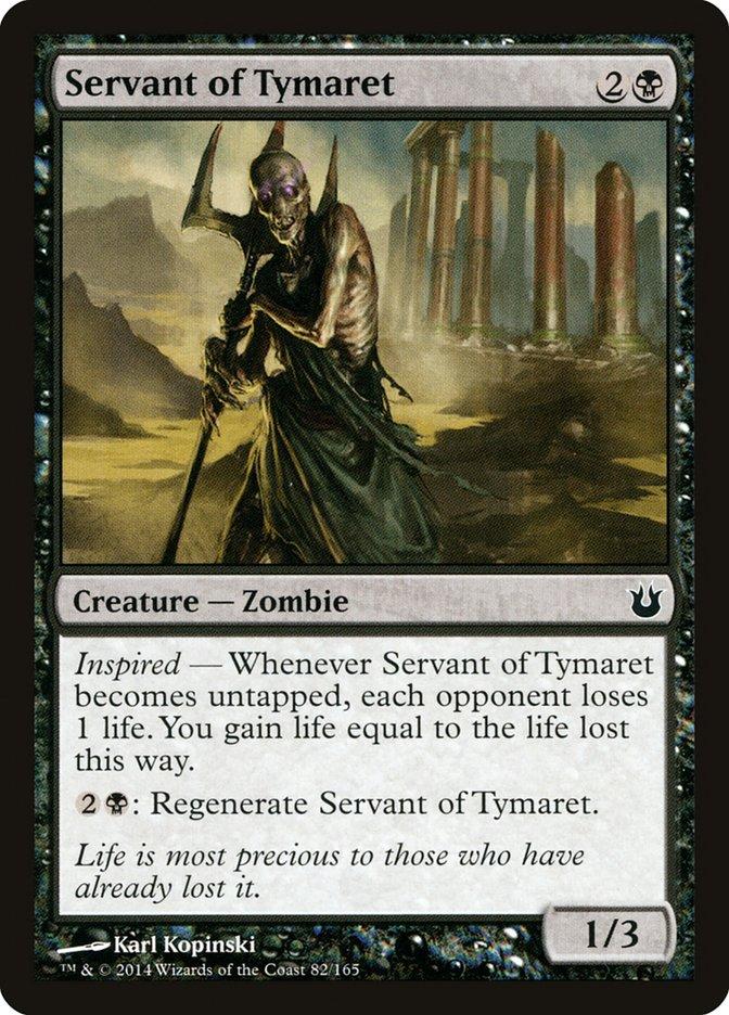 Servant of Tymaret
