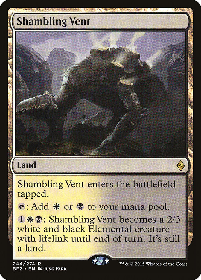 Shambling Vent