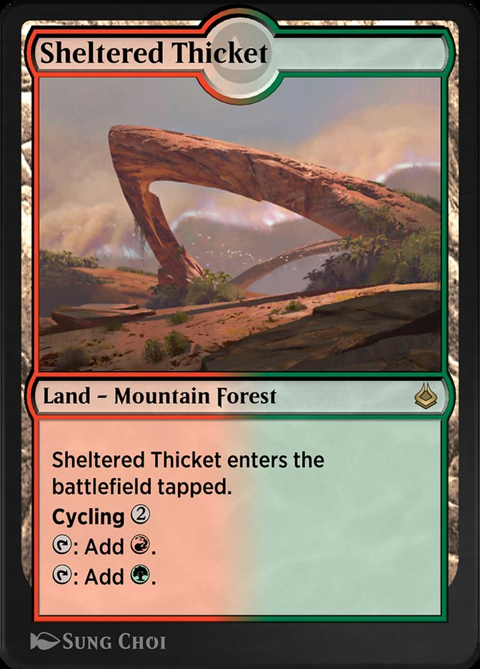 Sheltered Thicket