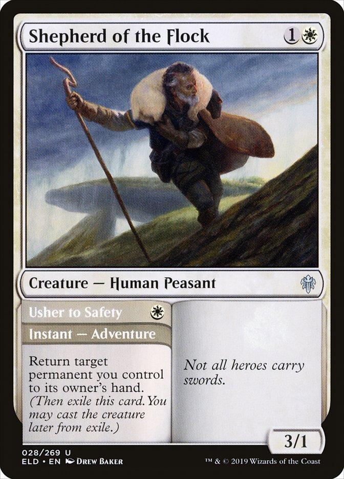 Shepherd of the Flock // Usher to Safety