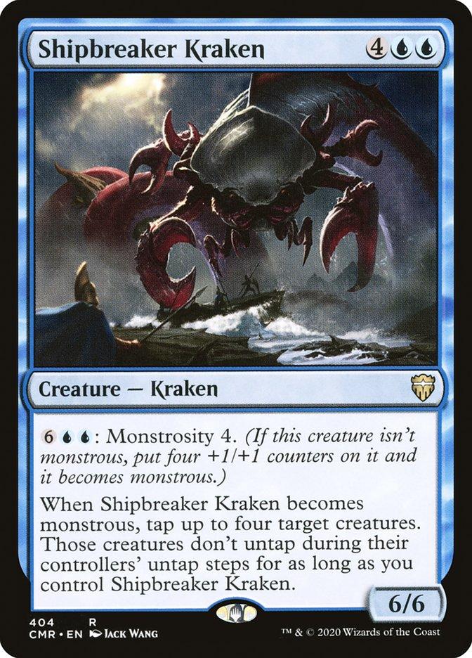 Magic the Gathering  Shipbreaker Kraken 63249  Theros