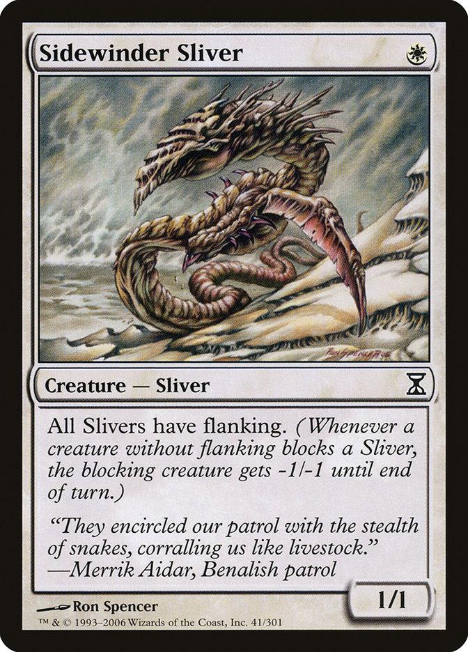 Sidewinder Sliver