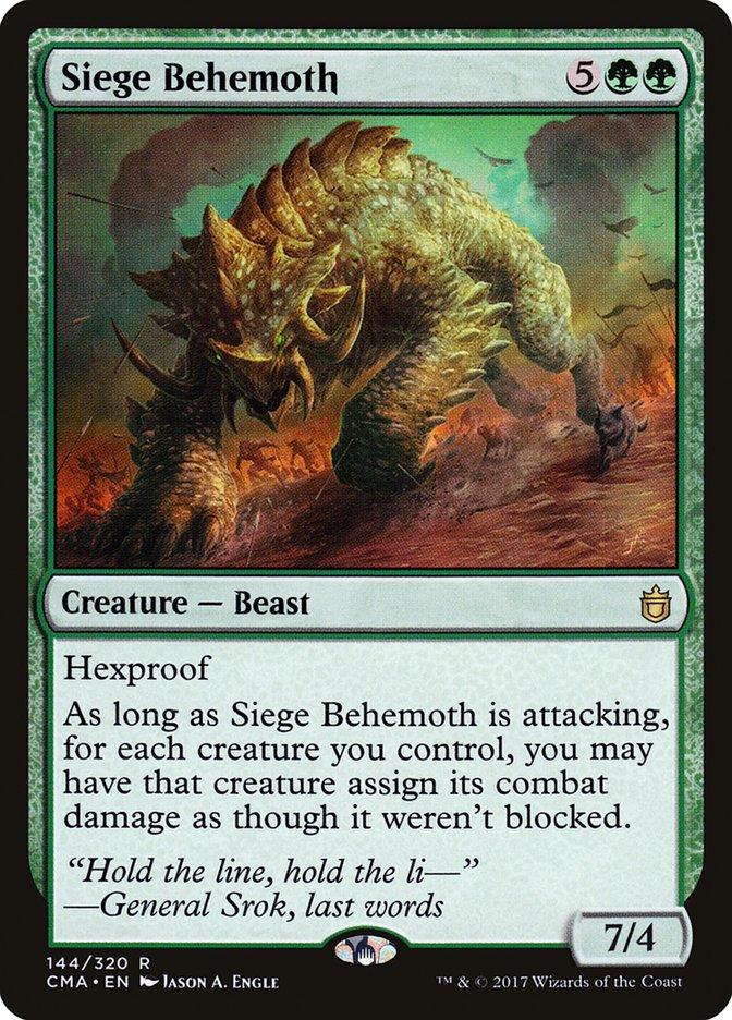 Siege Behemoth