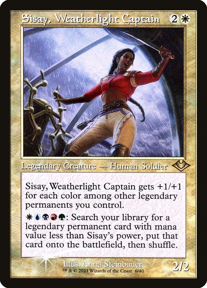 Sisay, Weatherlight Captain