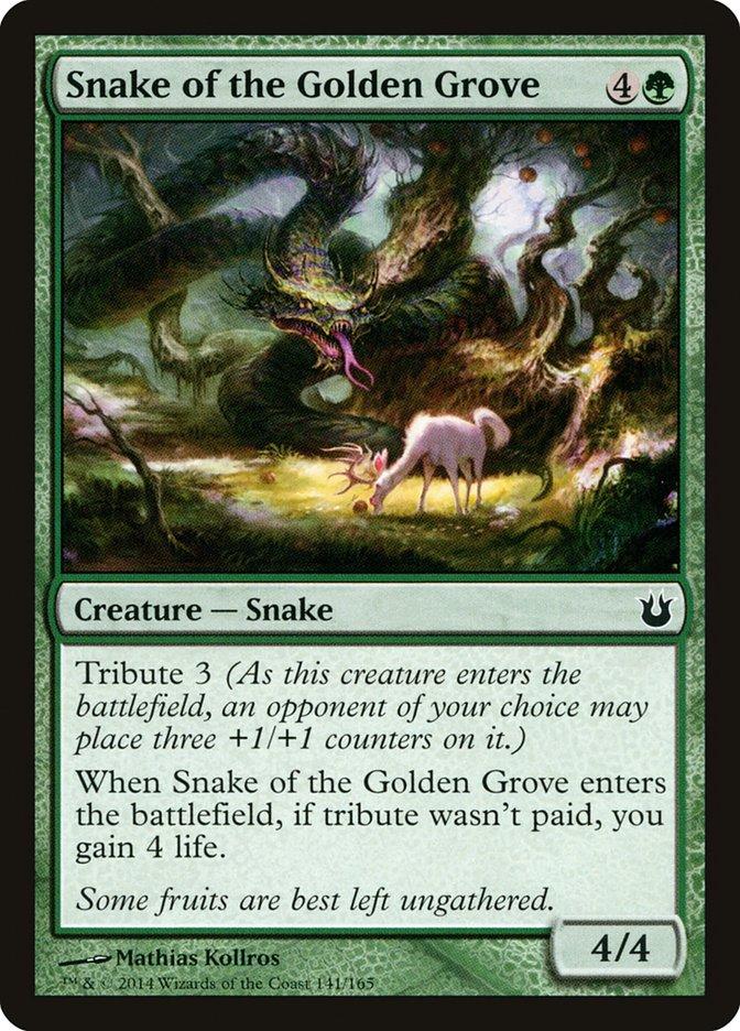 Snake of the Golden Grove
