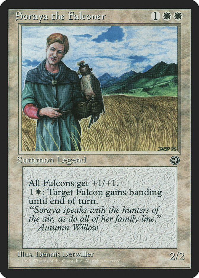 Soraya the Falconer