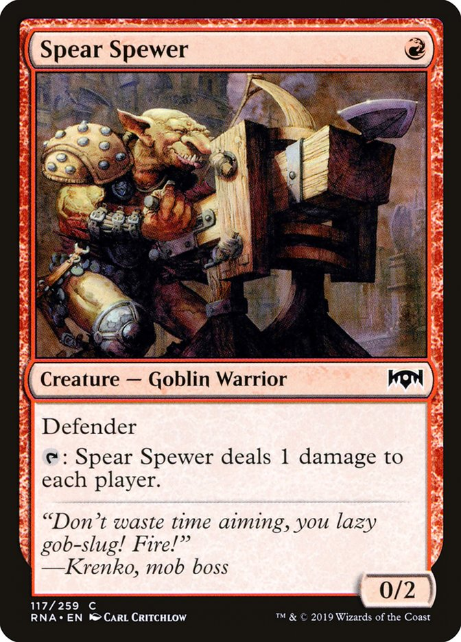 Spear Spewer