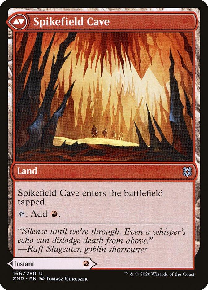 Spikefield Hazard // Spikefield Cave