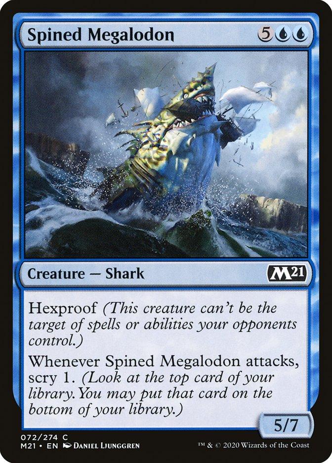 Spined Megalodon