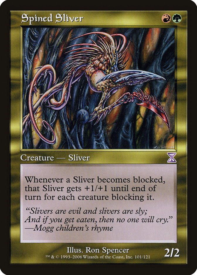 Spined Sliver
