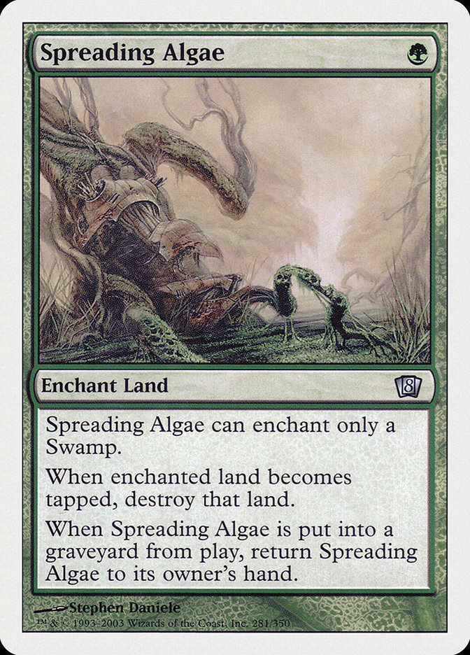 Spreading Algae