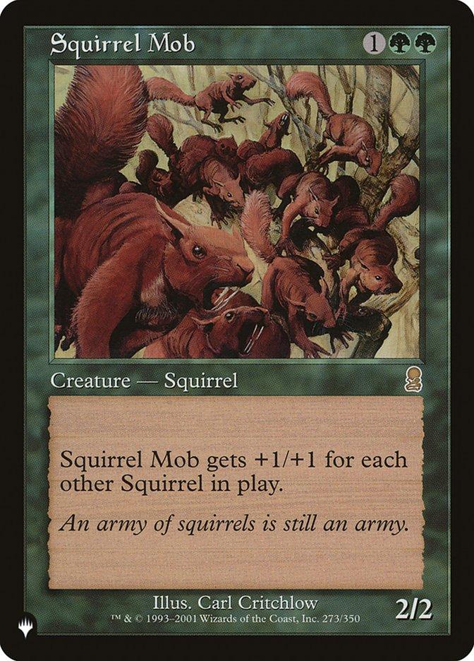 Squirrel Mob