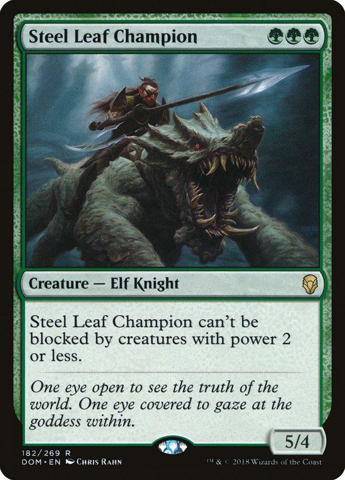 Steel Leaf Champion