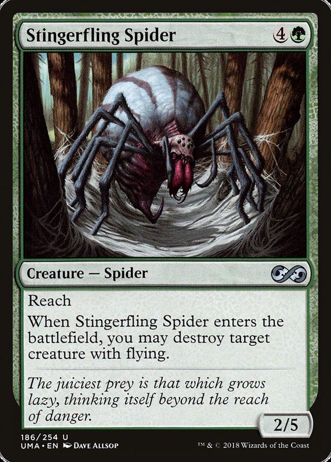 Stingerfling Spider