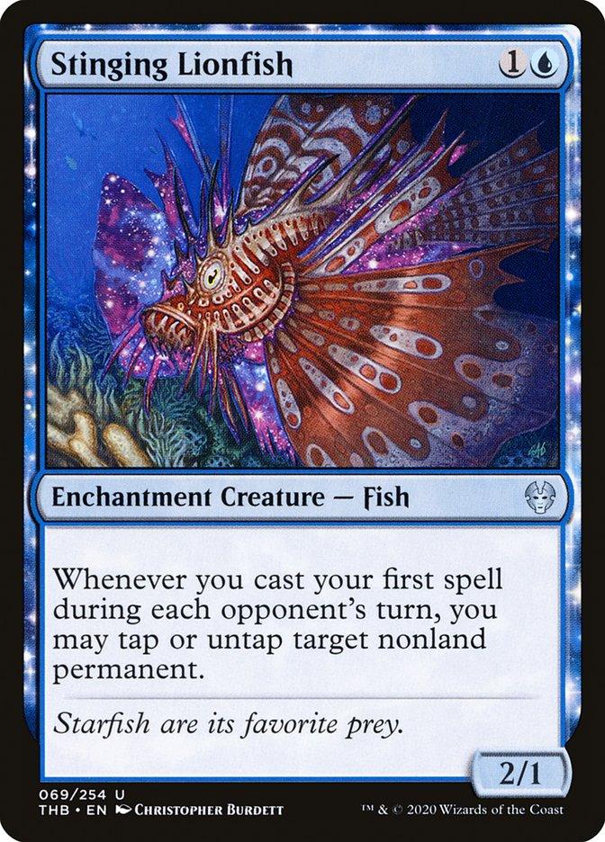 Stinging Lionfish