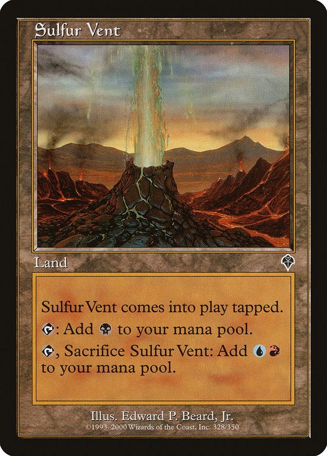 Sulfur Vent