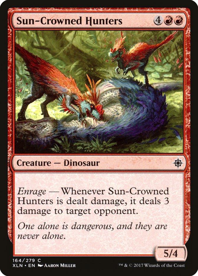 Caçadores Coroa-de-sol