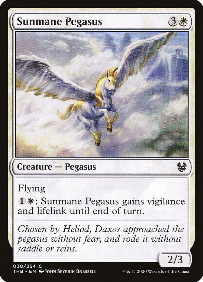Sunmane Pegasus