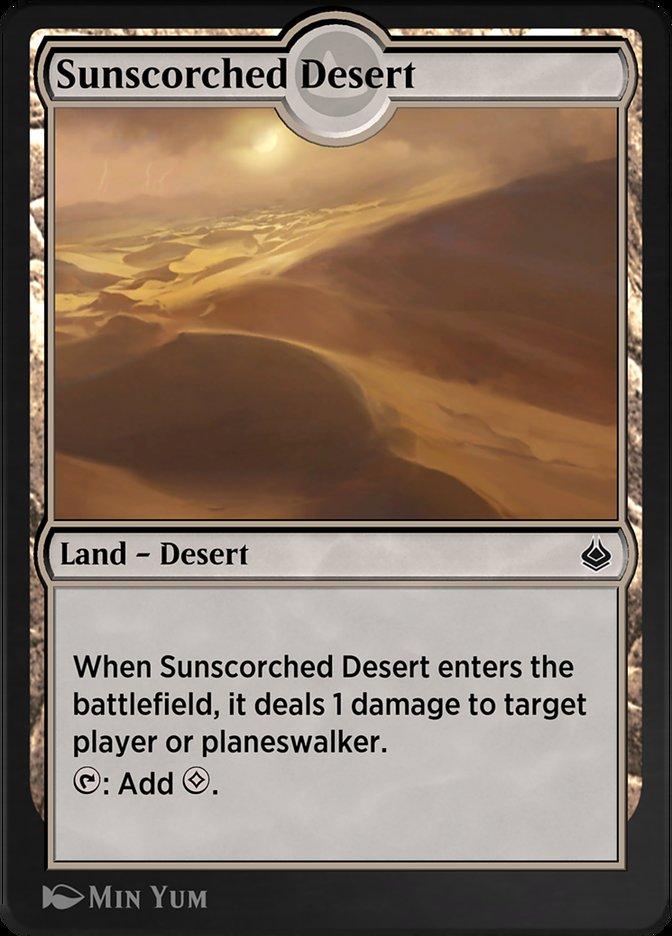 Sunscorched Desert
