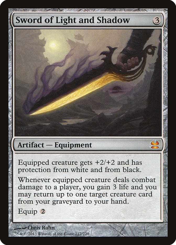 Sword of Light and Shadow