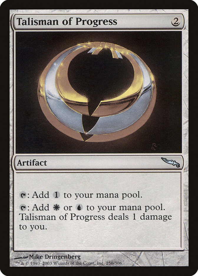 Talisman of Progress