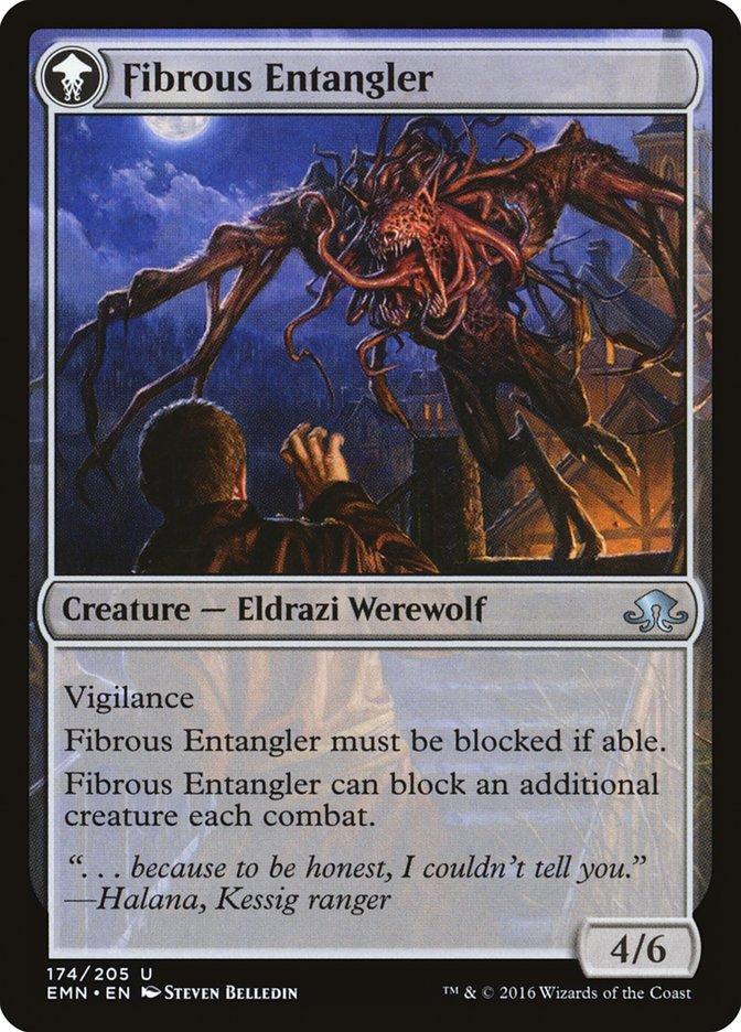 Tangleclaw Werewolf // Fibrous Entangler