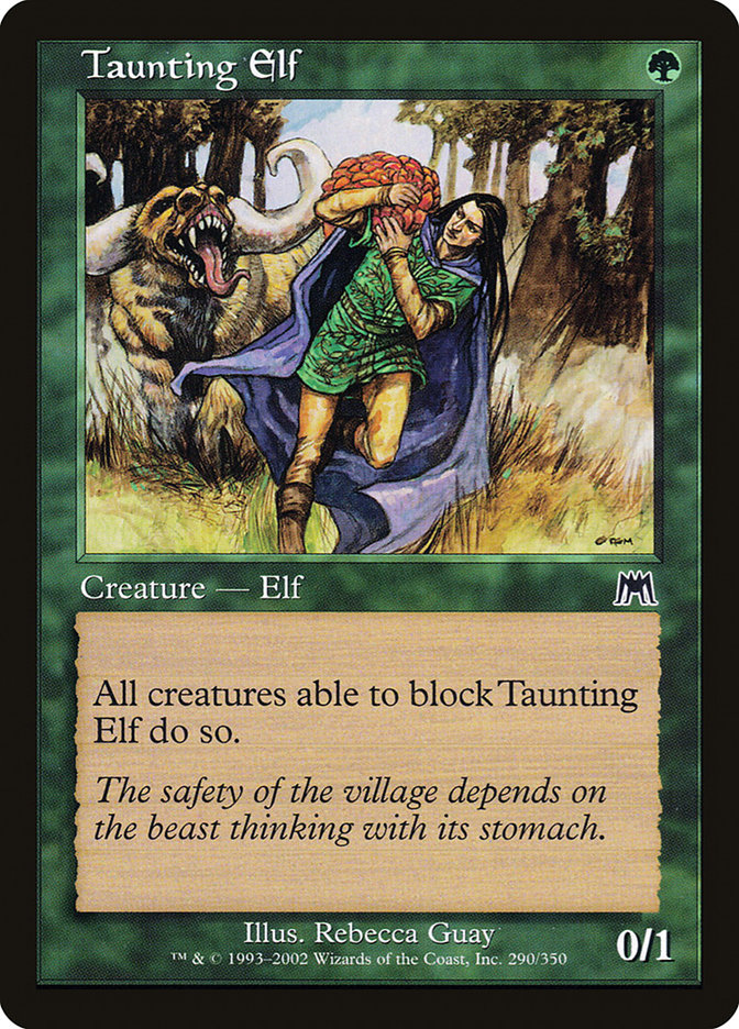 Taunting Elf