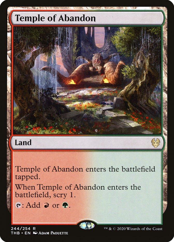 Temple of Abandon