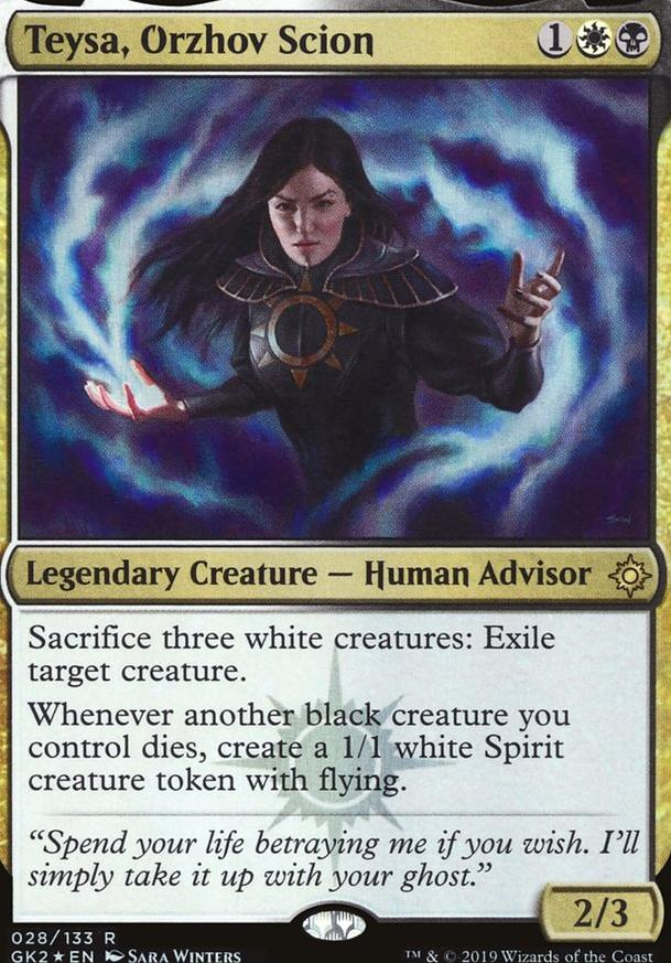 Church of Value (Teysa, Orzhov Scion Aristocrats) (EDH / Commander
