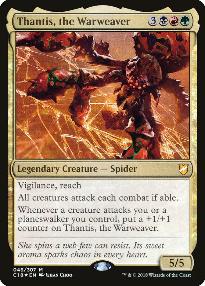 Thantis the Warweaver - Aggro (EDH / Commander) — deckstats