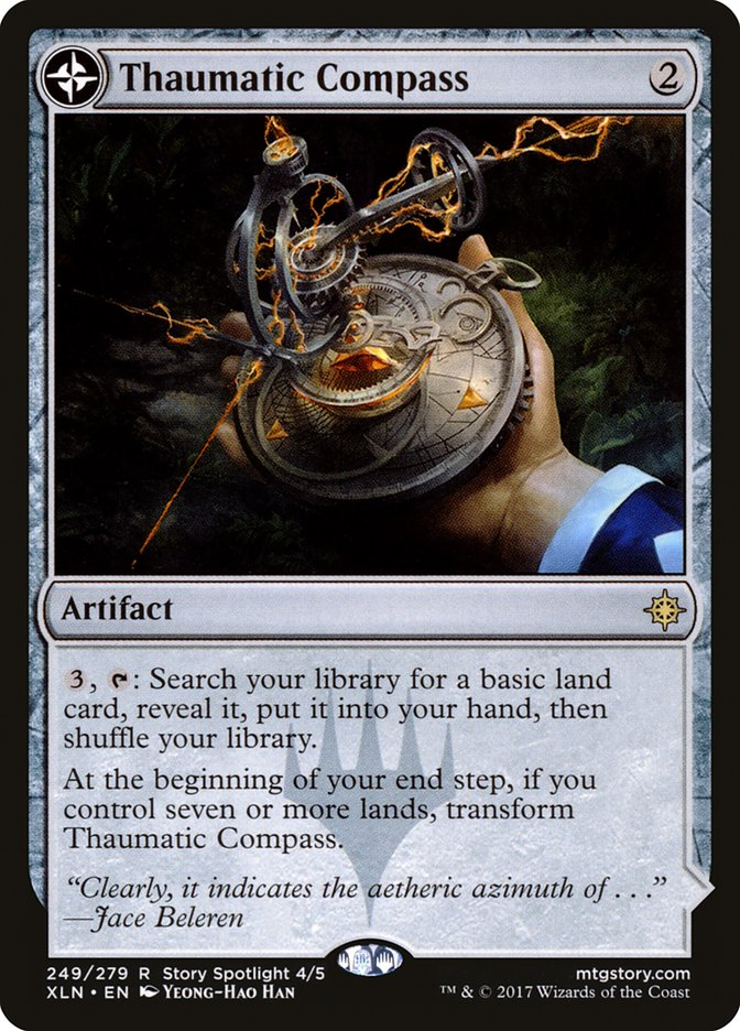 Thaumatic Compass // Spires of Orazca